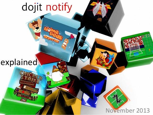 Dojit notify provides context aware push notifications