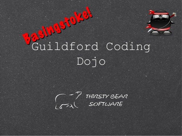 Guildford Coding Dojo1