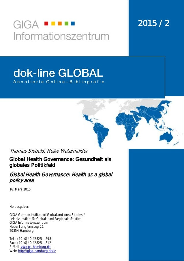 Herausgeber: GIGA German Institute of Global and Area Studies / Leibniz-Institut für Globale und Regionale Studien GIGA In...