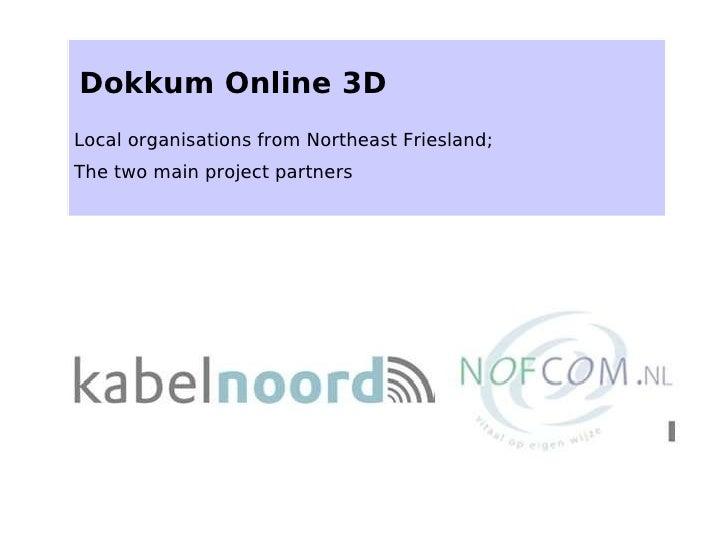 Dokkum Online 3 D   Webportaal Eng