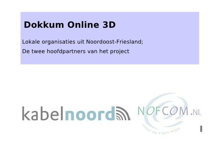 Dokkum Online 3 D   Webportaal Kl