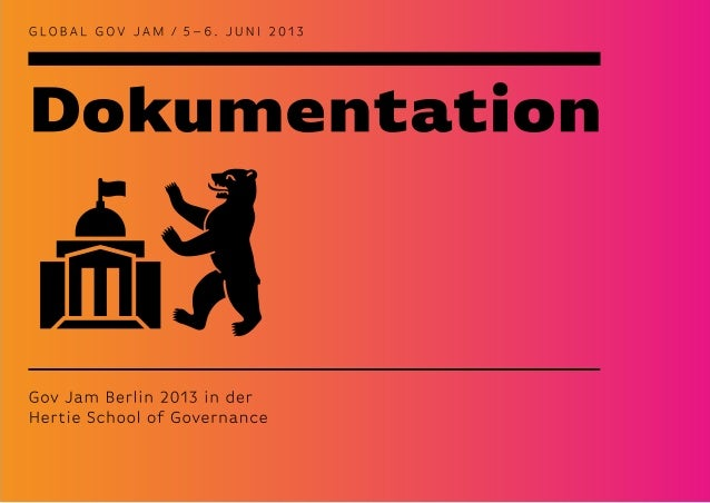 Gov Jam Berlin - Dokumentation1