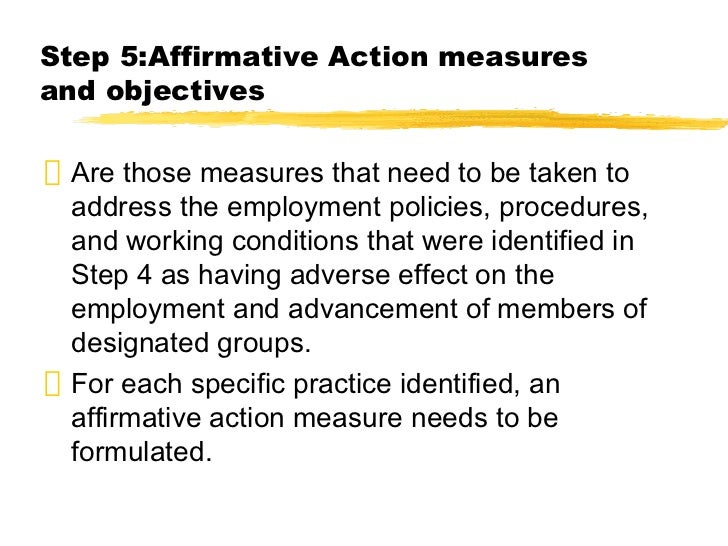 an analysis of the benefits and issues of the affirmative action A practical guide to compliance with ofccp's new regulations on affirmative action for veterans and those with disabilities  the benefit from adopting a .