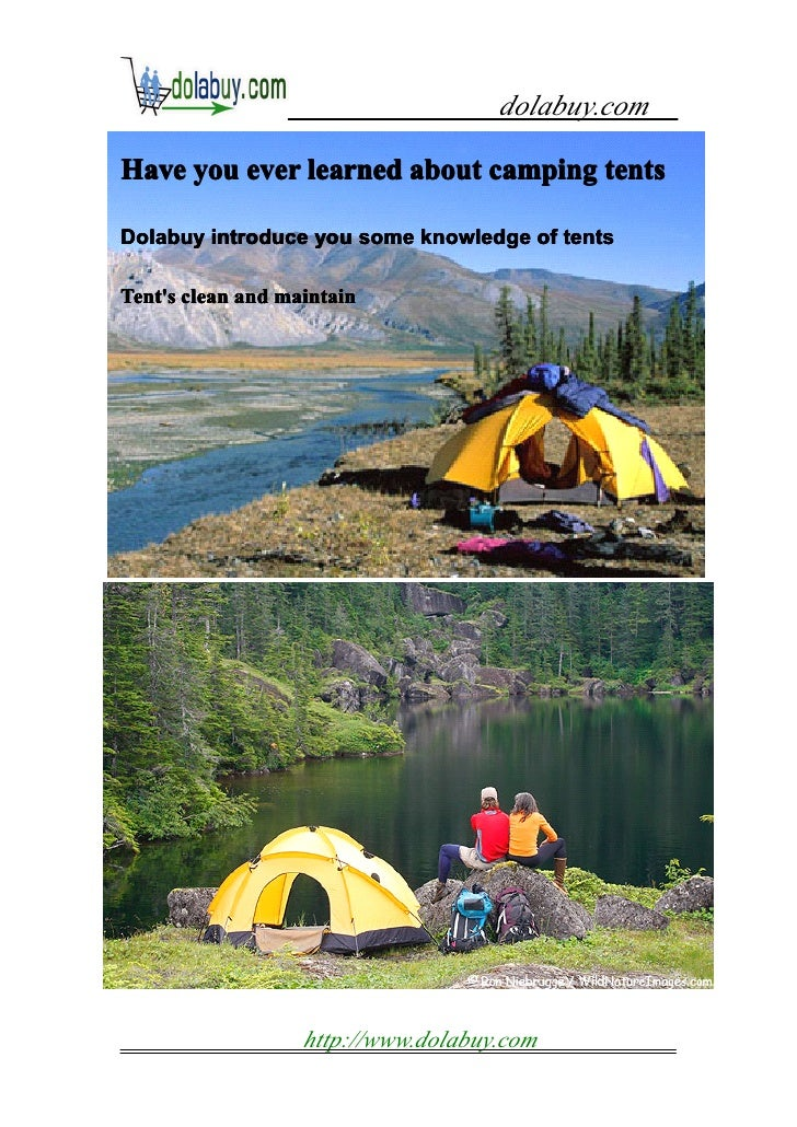 dolabuy.comHave you ever learned about camping tentsDolabuy introduce you some knowledge of tentsTents clean and maintain ...