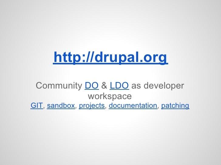 Do + ldo for developers(full)