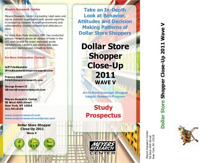 Meyers Research Center                                   Take an In-DepthMeyers Research Center is a leading retail sales ...