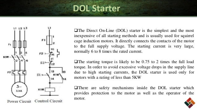 Wiring diagram direct online starter single phase dol starter circuit diagram pdf efcaviationcom sciox Images