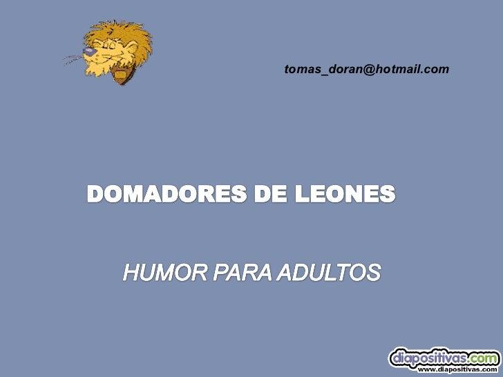 Domadores de-leones-diapositivas