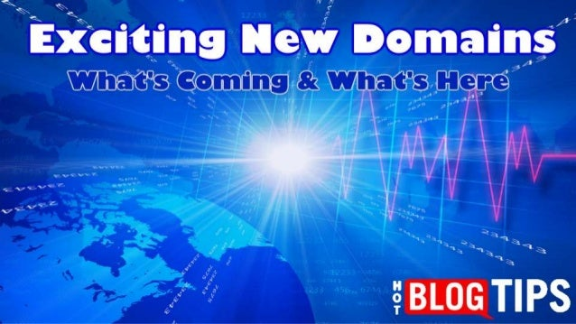 Detailed List Of New Generic Top Level Domains