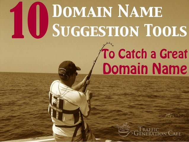 10 Domain Name Suggestion Tools to Catch a Great Domain Name
