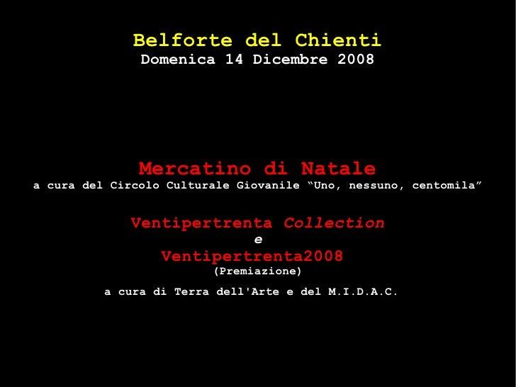 Domenica 14 dicembre 2008 - Belforte del Chienti