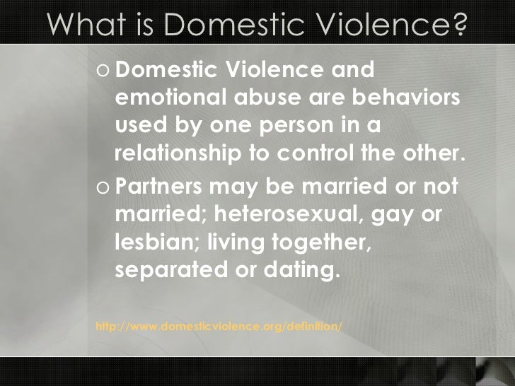 domestic violence research paper introduction - domestic violence, also referred to as intimate partner violence, intimate partner abuse or domestic abuse, affects over one million people in the united states alone it can be carried out in any number of ways including physically, emotionally, sexually, psychologically and/or financially.