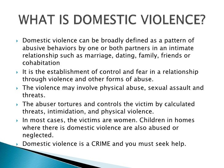 domestic violence essays