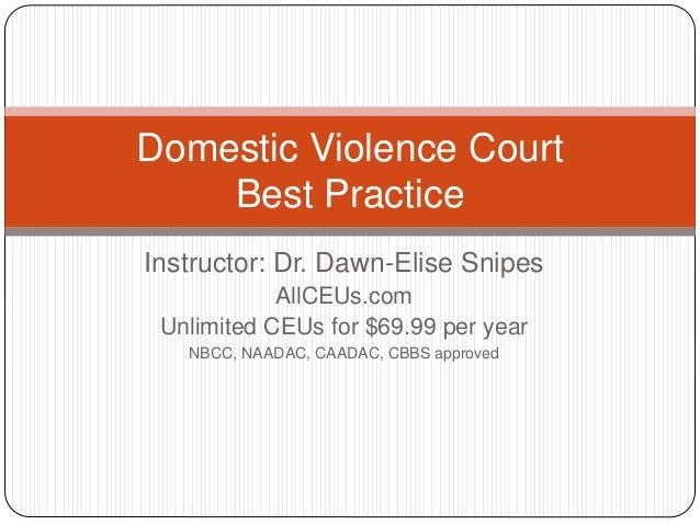 Domestic Violence Court