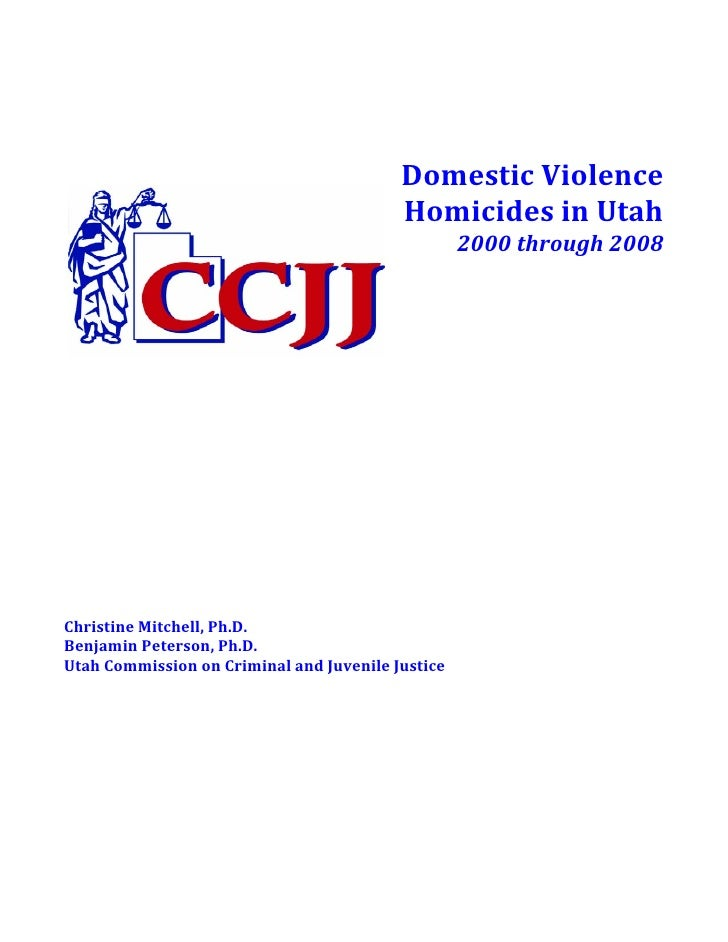 Domestic Violence Homicide Report