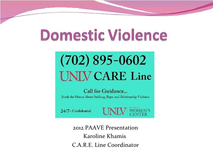 Domestic violence powerpoint