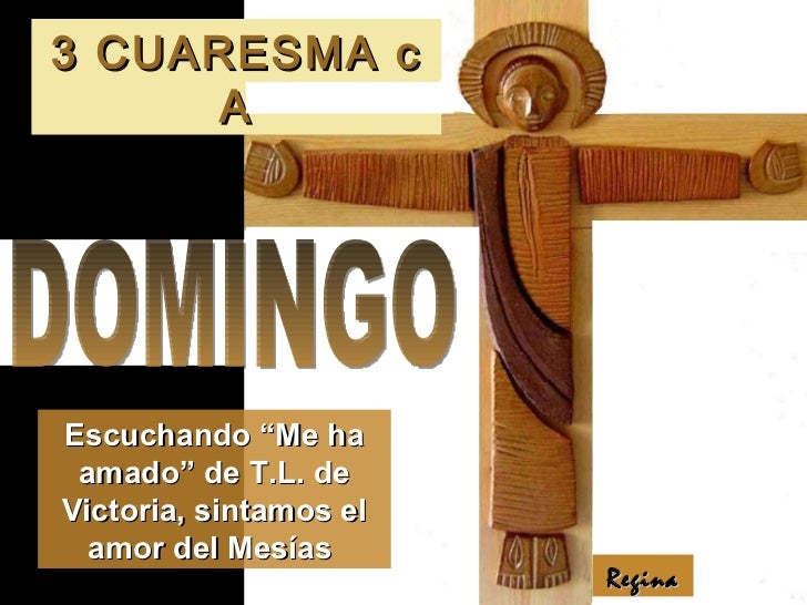 Evangelio III Domingo de Cuaresma