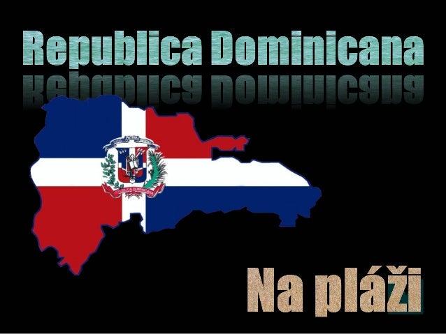 Republica Dominicana - Na pláži (On the beach)