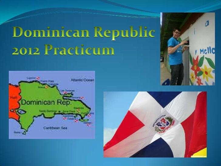 Human Services Dominican Republic 2012 Practicum