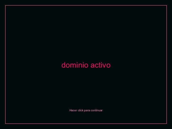 Dominio activo