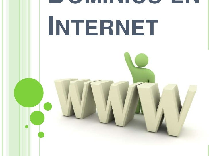 Dominios en Internet<br />