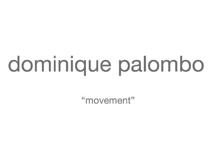 Dominique Palombo  - Movement3
