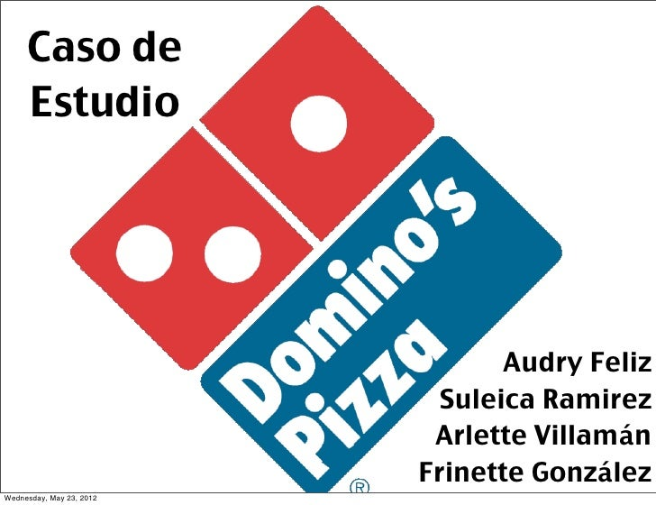 Caso de Estudio en Social Media Domino's Pizza