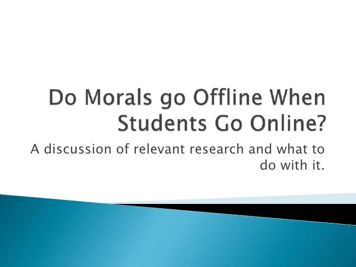 A discussion of relevant research and what to                                    do with it.