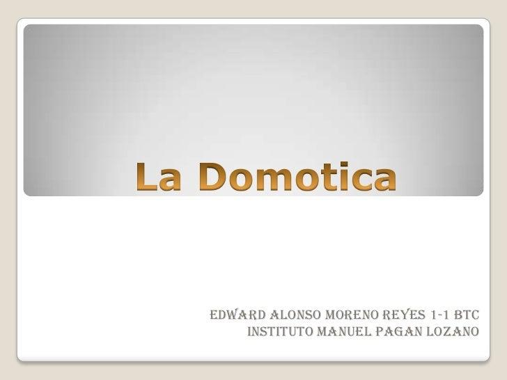 Edward Alonso moreno reyes 1-1 btc    Instituto Manuel pagan lozano
