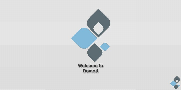 Domoti Corporate Presentation (eng)