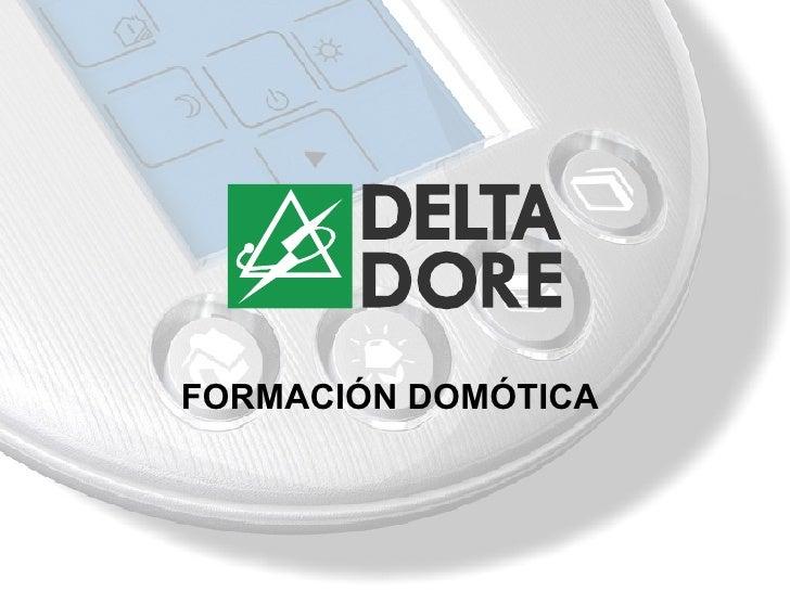 FORMACIÓN DOMÓTICA