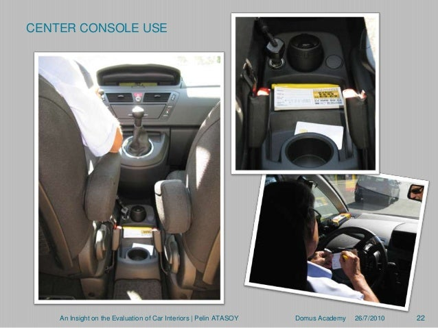 Insight Car Interior of Car Interiors | Pelin