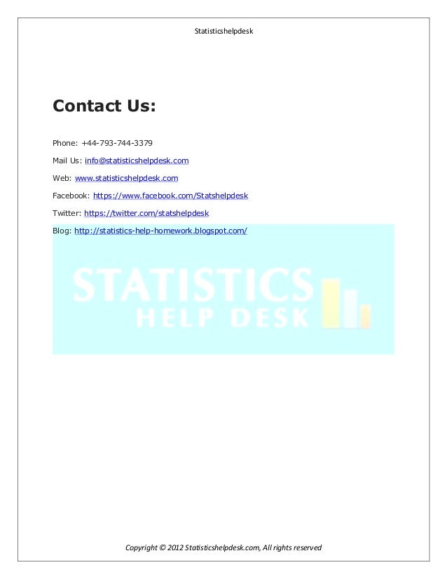 Do my math homework statistics