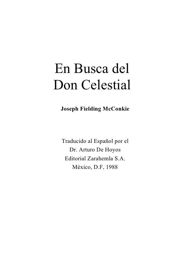Don Celestial   Joseph F