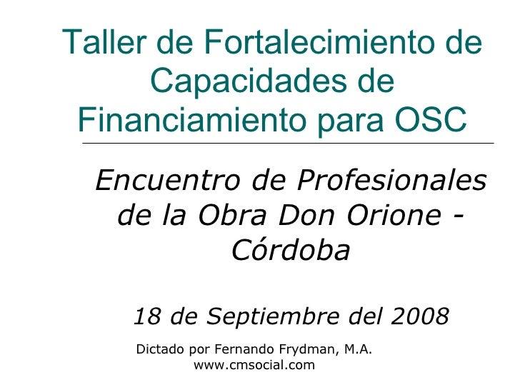 Presentación Fernando Frydman (1)