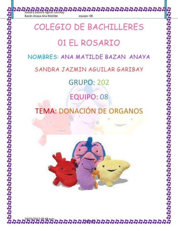 Donación de órganos 2