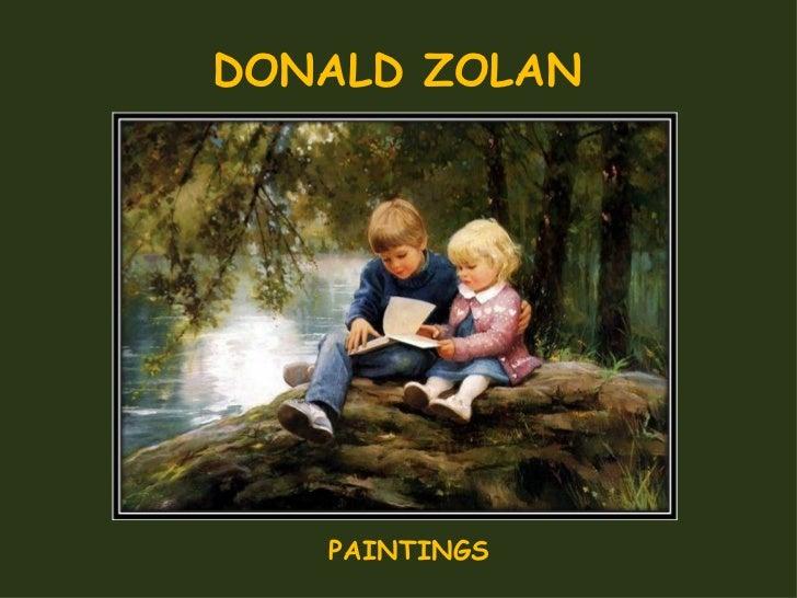 DONALD ZOLAN PAINTINGS