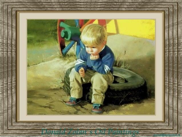 Donald zolans oil paintings  am c.f.