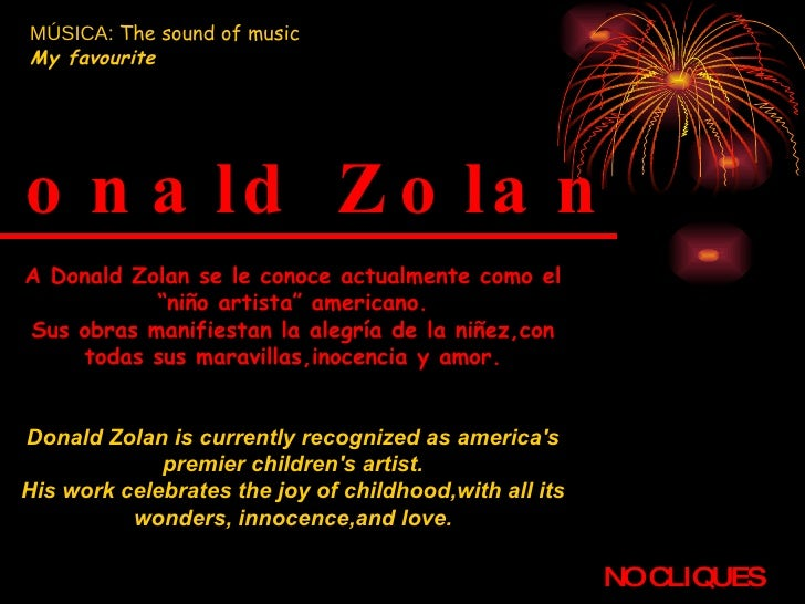 Donald Zolan (The Sound Of Music   My Favourite)