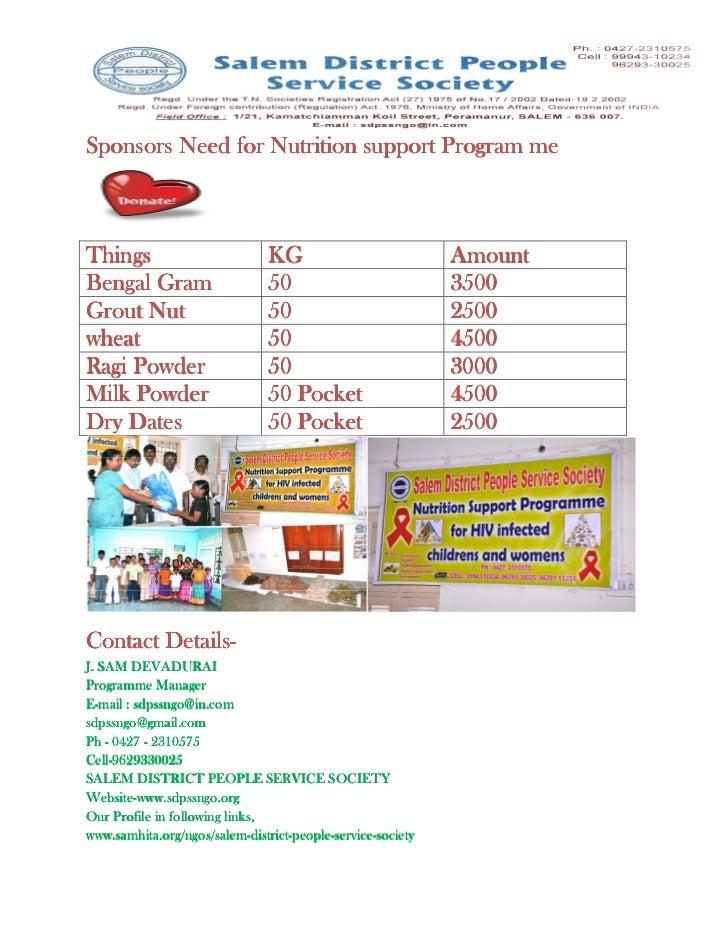Donatation
