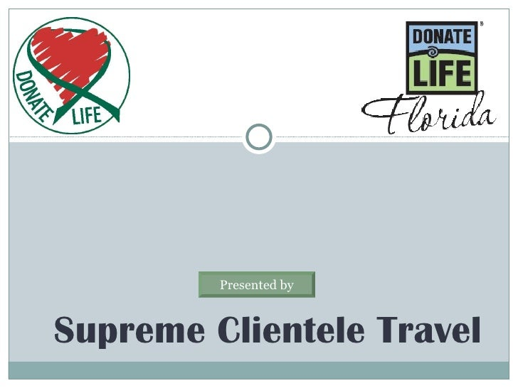 Supreme Clientele Travel Presented by