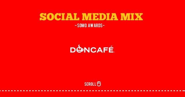 SOCIAL MEDIA MIX -SOMO awards- scroll