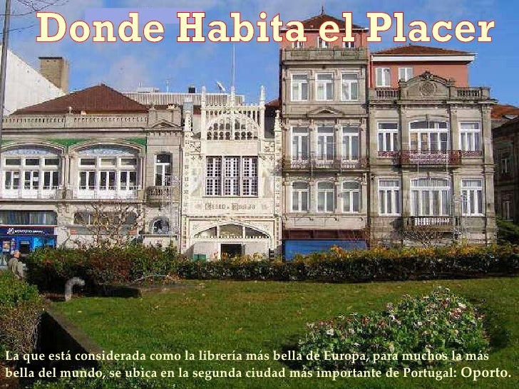 Donde Habita El Placer  Lf