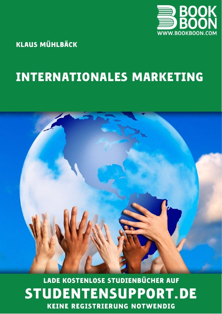 Input: Internationales Marketing