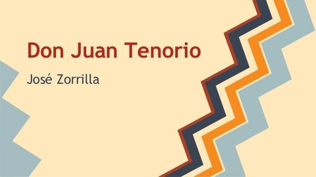 Don Juan Tenorio José Zorrilla