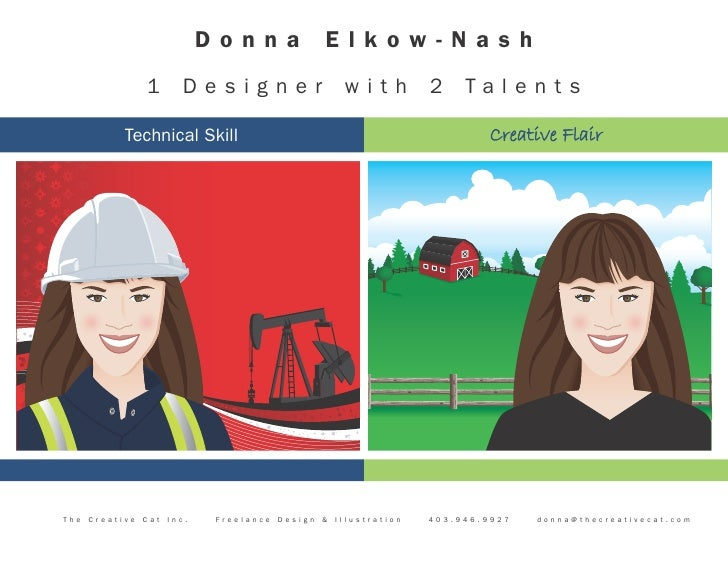 Donna                 Elkow-Nash                   1        Designer                       with          2    Ta l e n t s...