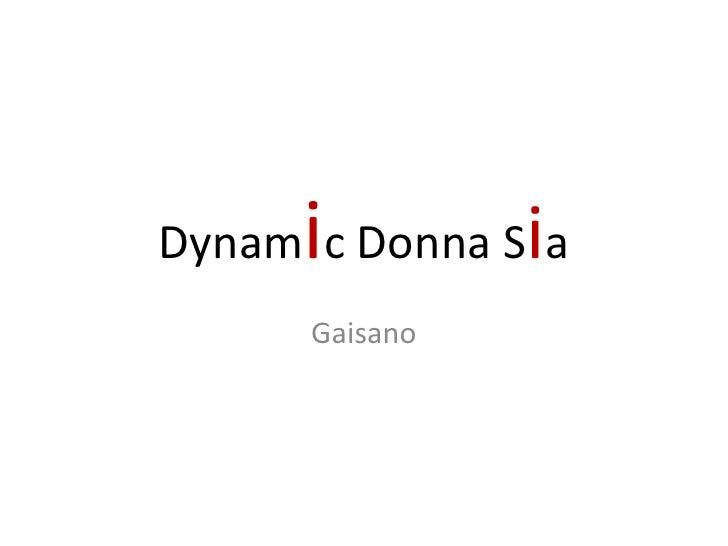 iDynam c Donna Sia      Gaisano