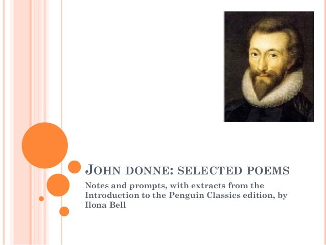 Donne: Collected Poems - Lessons and study guide