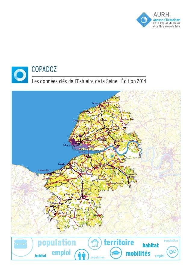 population population population emploi emploi habitat habitat territoire mobilités COPADOZ Les données clés de l'Estuaire...