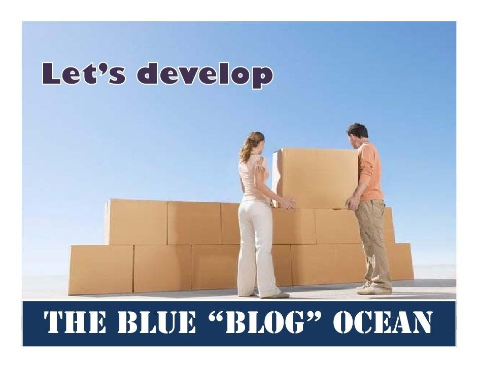 "The Blue ""Blog"" Ocean"